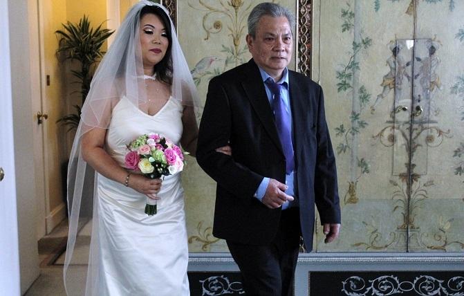 bride, father of bride, CG Bridal, wedding day,