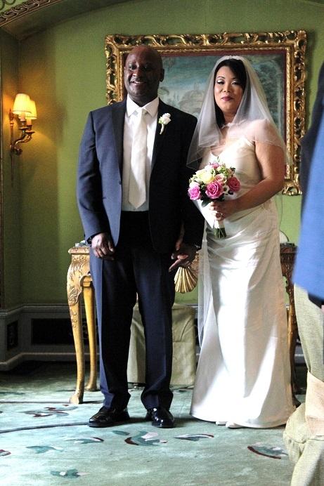 wedding day, groom, bride, dorchester hotel,