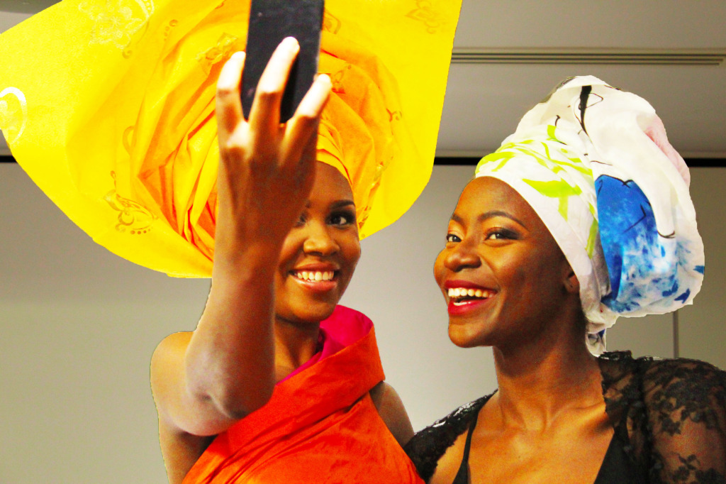 GT Gele gorgeous selfie time!