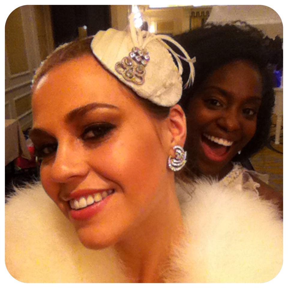 Vintage CG Bridal &  Katherine Elizabeth hat