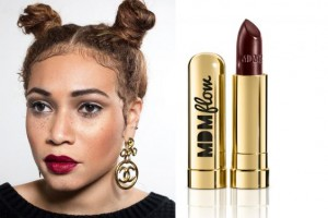 MDMflow, makeup, black women, lipstick,