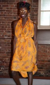 Summer breeze styling - dress by CG Couture